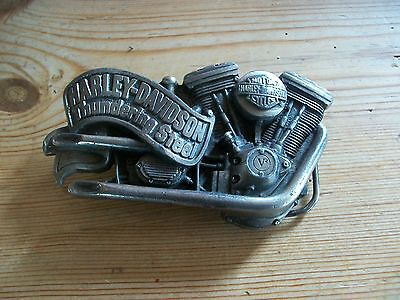 Harley Davidson Belt Buckle, Official H.d 1991 Baron Made.........