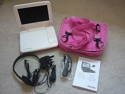 New portable Philips DVD player