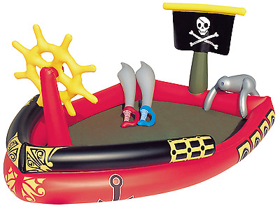 Bestway 53041 spalsh and play gonfiabile pirati 191x140x97cm bambini nuovo fun