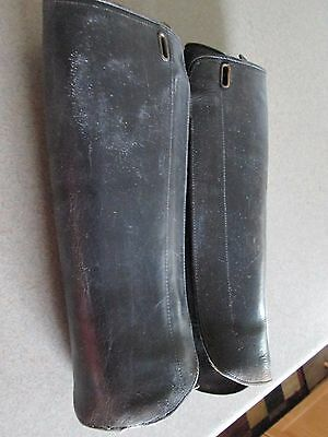 Vintage Motor Cycle Gear Leather Arm Protector