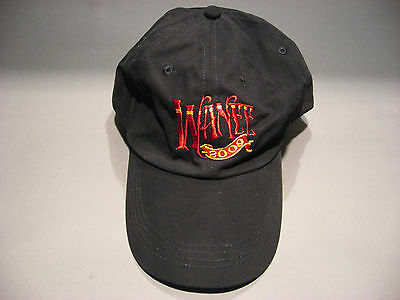 Allman Brothers Wanee Music Festival 2009 Anvil Hat Blk Size Embroidered New
