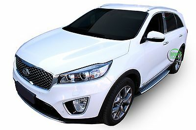 Kia Sorento mk3 2015 -up New Running Boards Side Steps  Factory Style