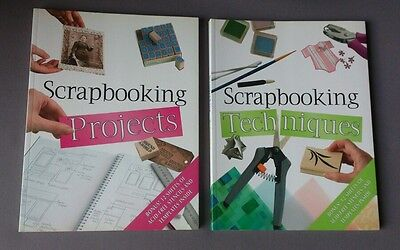 2 books ~ Scrapbooking Techniques & Scrapbooking Projects
