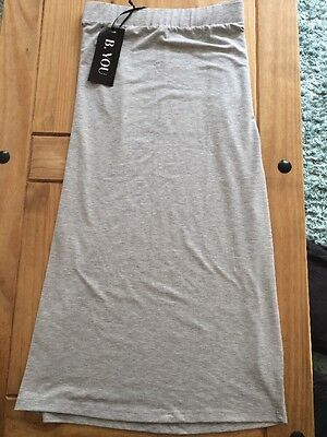 New ladies Grey high waisted pencil skirt size 16/18