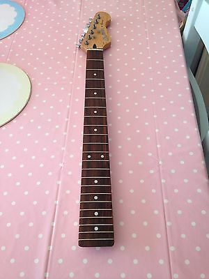 Stratocaster Maple Neck With Tuners Project Guitar