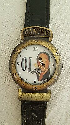 OJ Simpson Novelty Watch