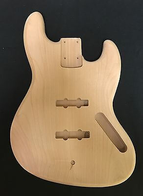 Fender Jazz Bass Lic. Replacement Body 2 Pcs. Alder Unfinished