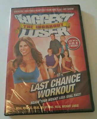 THE BIGGEST LOSER THE WORKOUT: LAST CHANCE WORKOUT (DVD, 2009, Canadian) New