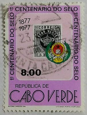 118.cape Verde (8.00) 1977  Used Stamp Stamp On Stamps