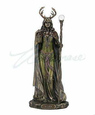 Elen Of The Ways Antlered Goddess Of The Forrest Statue Figurine HOME DECOR