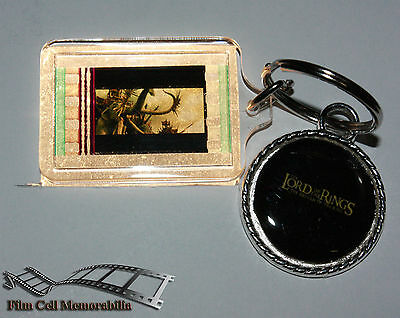Lord Of The Rings - 35mm Film Cell Movie KeyRing and Pendant Keyfob Gift
