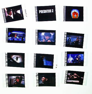 Predator 2 - 12  pack - 35mm Film Cell Lot FREE POSTAGE