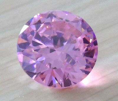 18mm Pale Pink Sapphire 33.25ct AAAAA Round Shape Faceted Cut VVS Loose Gems