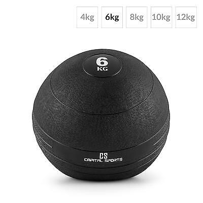 Capital Sports Medizinball Reha Training 6 Kg Gewicht Kraft Training Workout