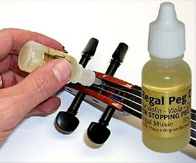 Violin Peg Drops - Viola Cello Or Bass Pegs As Well & Stop Slipping Pegs