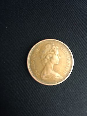 UK 2p ( New Pence ) 1971 Mint   First year of issue.