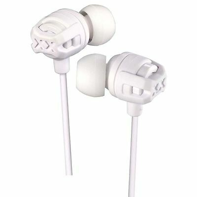 JVC HAFX103MW White Xplosives Remote Xtreme In Ear Headphones With Mic New