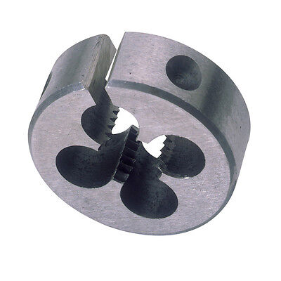 "Draper 6mm M6 x 1.0 Circular Die 1"" OD Outside Diameter Carbon Steel 83809"