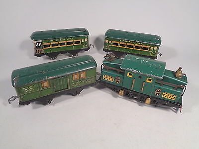 American Flyer Nation Wide Lines 3110 Pass Set Green #x3138