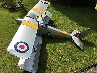 Flair 1/4 Scale Tiger Moth with Laser 180 - Just add RX