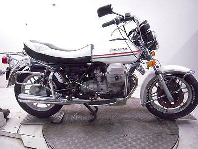 1984 Moto Guzzi V1000 California Unregistered US Import Barn Find Classic Proj