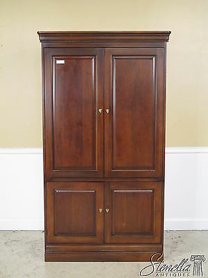 36695: HOOKER Cherry TV Armoire Cabinet
