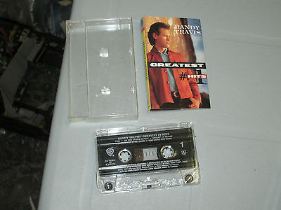 Randy Travis - Greatest #1 Hits (Cassette, Tape) WORKING Tested