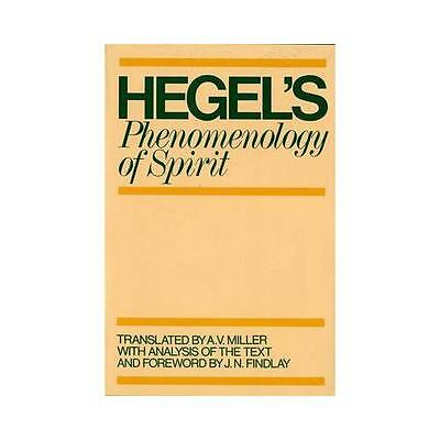 Phenomenology of Spirit by G. W. F. Hegel (Paperback, 1979)