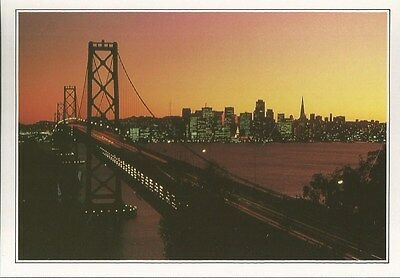 "Carte Postale "" Usa "" San Francisco The Golden Gate Bridge ..................."