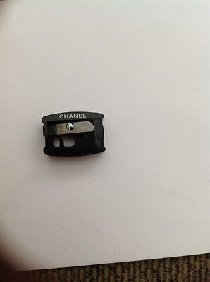 "Chanel Pencil Sharpener 1/2"" Opening New Black Made In Germany"