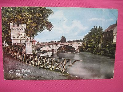 St. Johns Bridge,  Kilkenny  (posted 1906)