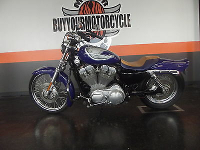 Harley-Davidson Sportster  2008 HARLEY SPORTSTER 883 LOW CUSTOM PAINT LOADED XL883L WE FINANCE AND SHIP