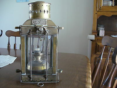 Vintage Brass  Oil Lantern 3954 Great Britain 1939 L@@K