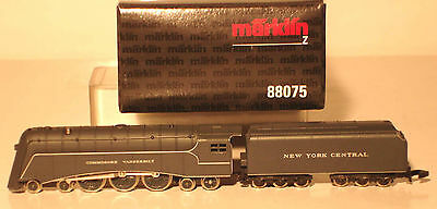 Marklin  Z: 88075 Steamloco with Tender NYC   *Commodore Vanderbilt*