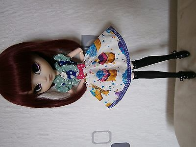 Jupe cupcake taille pullip dal doll