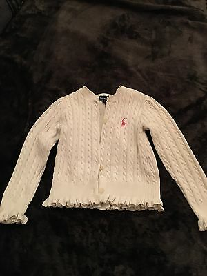 Girls Ralph Lauren Cardigan 2 Years Old