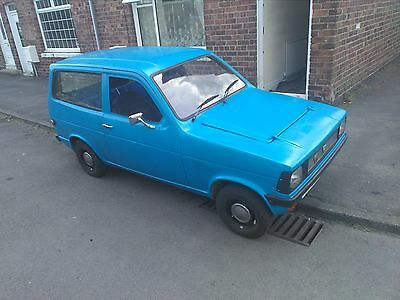 1977 Reliant Kitten 11 month mot , tax exempt next year yellow top engine fitted