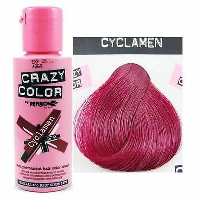 Crazy Color-41 Cyclamen- Colorazione Semipermanente 100ml RenBow