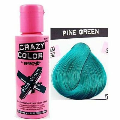 Crazy Color-46 Pine Green- Colorazione Semipermanente 100ml RenBow