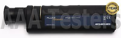 Fluke Networks FT120 FiberViewer 200X Fiber Microscope FT 120 FT-120