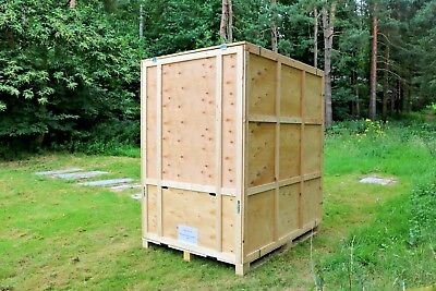 New Warehouse Container Wooden Removal Storage Box Ply Wood Crates 250