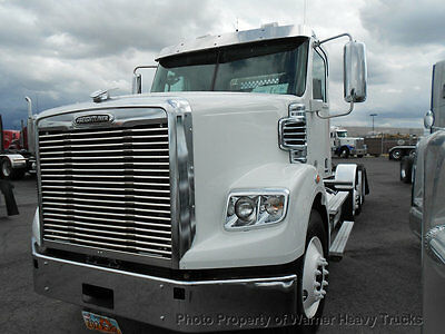 2014 Freightliner Coronado Day Cab Detroit Dd15 Heavy Specs Lockers Lift Axle