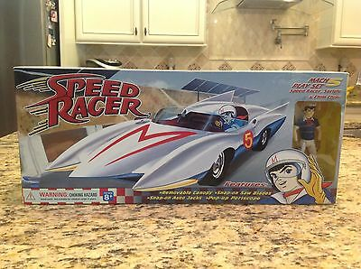 2003 Toynami Speed Racer Mach 5 Play Set Factory Sealed RARE MINT !!