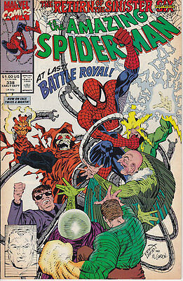 Amazing Spider-Man #338 Marvel Comics 1990 Free Shipping on All Comics