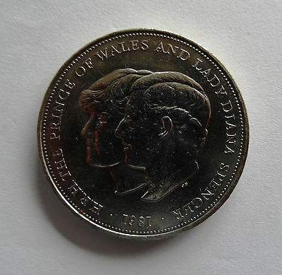 Charles And Diana Crown Coin 1981