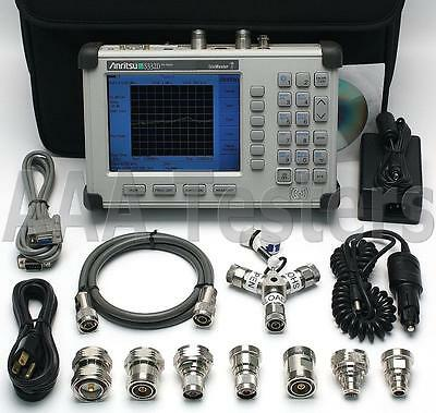 Anritsu SiteMaster S332D Cable / Antenna & Spectrum Analyzer w/ Opt 3 / 29