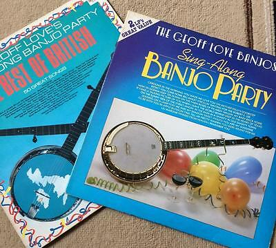 Geoff Love Sing Along Banjo Party & The Best Of British - 2 Double Vinyl Lps