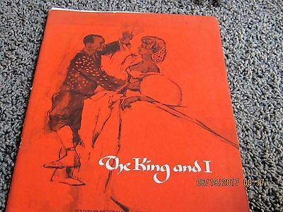 1965 THE KING AND I program with FLORENCE HENDERSON, RICARDO MONTALBAN