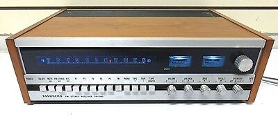 Pristine TANDBERG TR-1040 FM Stereo Receiver Tested Works Great Vintage