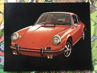 1972 Porsche 911-T, E & S Showroom Advertising Sales Brochure